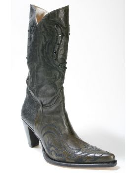 8252 Sendra Stiefel SHARP Old Tree Muschio High Heels