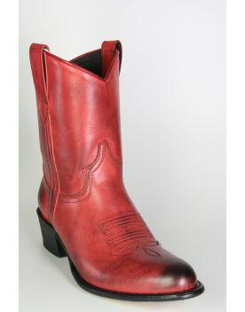 8481 Sendra Cowboystiefel Kurzschaft rot