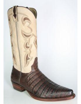 8647 Sancho Cowboystiefel Kaimanleder