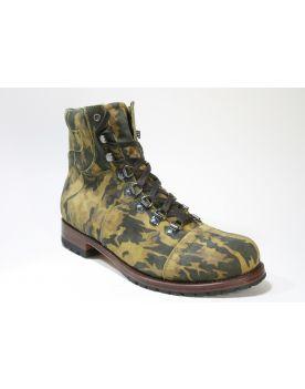 9017 Sendra Boots Camouflage Cabra Ante