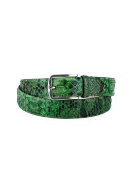 810 Mayura Gürtel Python Verde