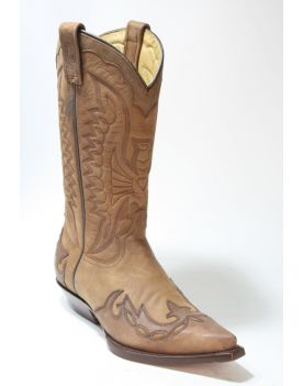 Illinois Brown Light Rancho Cowboystiefel