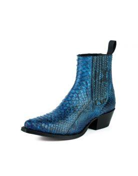 2496 Mayura Boots Stiefeletten Python Azul