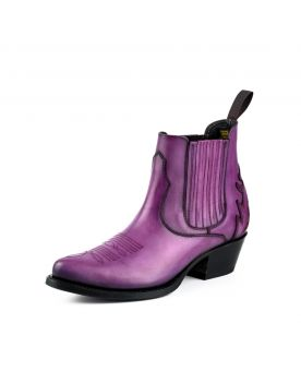 2487 Mayura Boots Cowboy Stiefeletten Morado lila