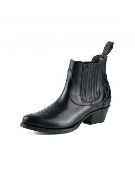 2487 Mayura Boots Cowboy Stiefeletten schwarz