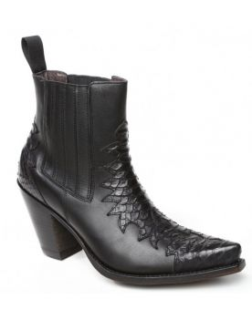9973 Sancho Abarca Stiefelette Negro Outlow