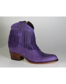 8932 Sendra Ankle Boots Sprinter Violeta Fransen