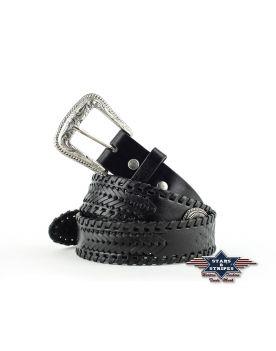 WG-96 Stars&Stripes Gürtel Black Concha