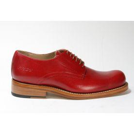 1004 Hobo Shoes Schnürschuhe GARTH Red Dingo