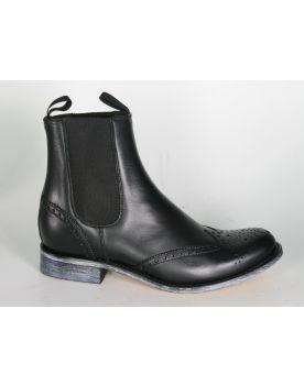 10049 Sendra Chelsea Boots Ciclon Negro