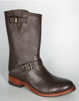 10506 Mezcalero Engineer Bikerboots Brown