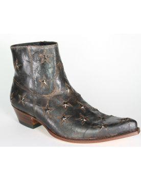 10616 Sendra Boots Stiefeletten Barbados Quersia Sterne