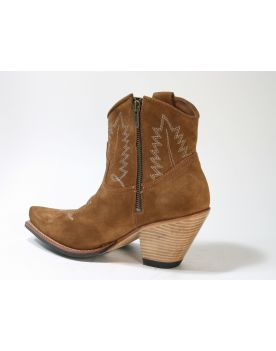 10779 Sendra Cowboy-Stiefelette Gorca Wildleder