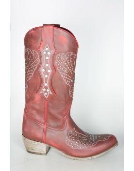 10934 Sancho Cowboystiefel Vintage Marlboro