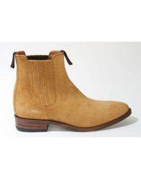 11336 Sendra Boots KASS Chelsea Boots Serr. Camello
