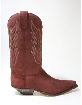 13843 Sendra Boots Cowboystiefel Serr. Kaleido Wildleder