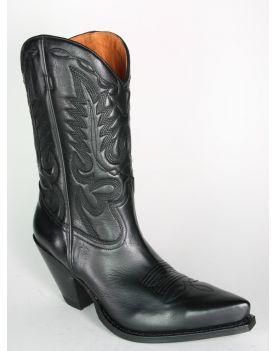 15651 Sendra Boots GORCA Cowboystiefel Negro