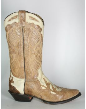 17972 Rancho Cowboystiefel Beige