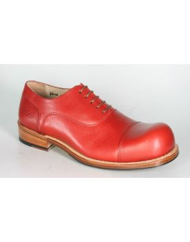 181 HOBO Schnürschuhe CHARLY MARCELLE Blood Red