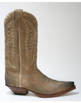 2073 Cowboystiefel Sendra Boots Serraje Natural Usado