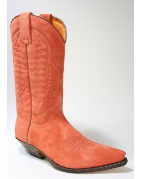 2073 Sendra Boots Serr. Mango Wildleder