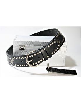 215 Original belts Gürtel Negro Nieten