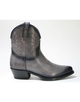 2374 Mayura Cowboy Stiefeletten Vintage Gris