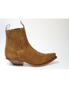 2581 Sendra Boots Stiefeletten Serr. Tabaco