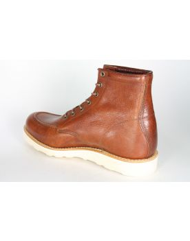 2659 Hobo shoes Schnürboots MOC-BOOT Dax Cuoio Brown