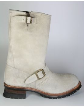 2944 Sendra Engineer STEEL Wildleder hell