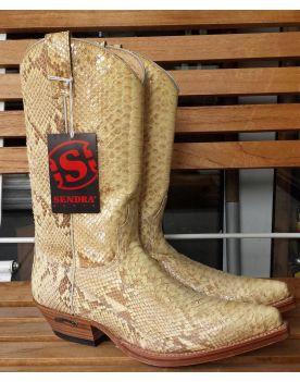 2966 Sendra Cowboystiefel Pico Python Natural beige