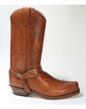 3091 Sendra Boots SETA Stiefel Sigma Cuoio Crema