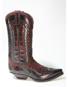 3156 Sendra Boots Cowboystiefel Flor. Fuchsia Serr. Kaleido