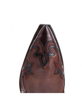 3241 Sendra Cowboystiefel WEST Flor. Fuchsia Spr. 7004