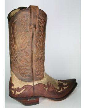 3241 Sendra Cowboystiefel Sprinter Hueso