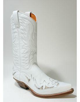 3242 Sendra Cowboystiefel X Blanco