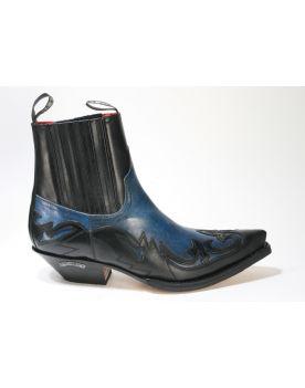 4660 Sendra Boots Stiefeletten Ciclon Negro Denver Azul