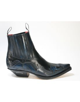 4660 Sendra Boots Stiefeletten Denver Azul Ciclon Negro