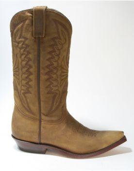 5014 Rancho Cowboystiefel CZ Oakwood Brown