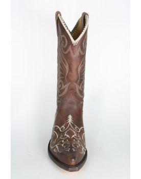 5199 Sendra Cowboystiefel Sprinter 7004 Stickung