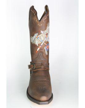5508 Sendra Cowboystiefel Spr. Tang Indian