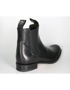 5595 Sendra Chelsea Boots STREET Ciclon Negro