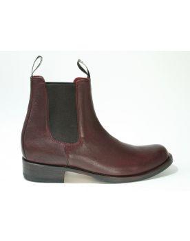 5595 Sendra Chelsea Boots Shetland Burdeos