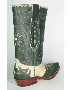 5737 Cowboystiefel Sancho grün