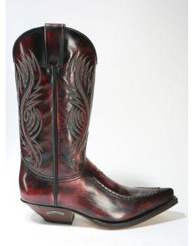 5844 Sendra Boots Cowboystiefel Denver Rojo