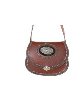 604 Boho Ledertasche Brown