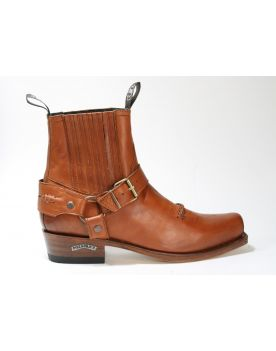 6445 Sendra Boots Stiefelette Poliwax