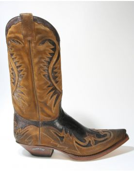 6480 Sendra Boots Cowboystiefel Serr. Camello Barbados