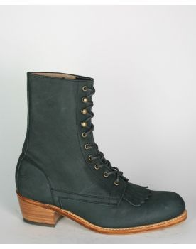 701 HOBO AMERICAN PACKER ML  Reitstiefelette Rodeo Coal Black