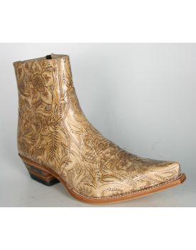 7826 Sendra Boots Stiefeletten Quesia 2484 Blondy